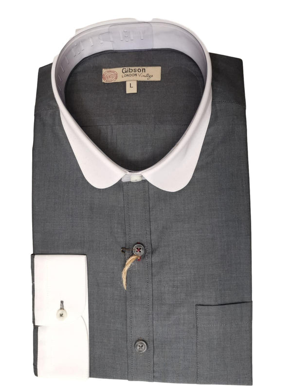 Gidson Of london Dark Grey Shirt