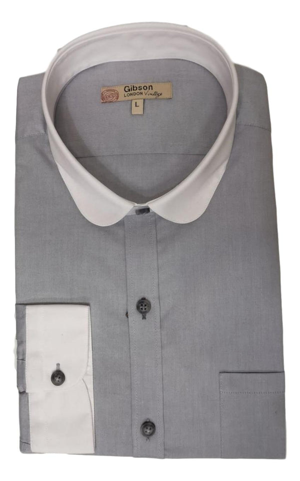 Gibson Of London Light Grey Shirt
