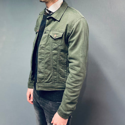 Petrol Industries Green Timber Denim Jacket