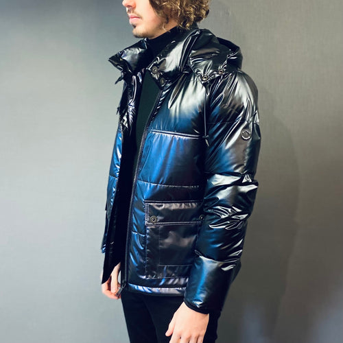 Markup Black Quilted Midnight Jacket