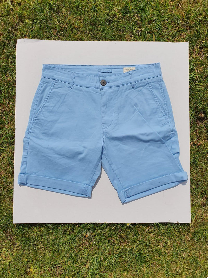 Selected Homme Paris Dusk Blue Short