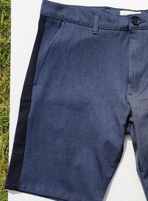 Tailored Originals Shorts Frederic Blue Pipe