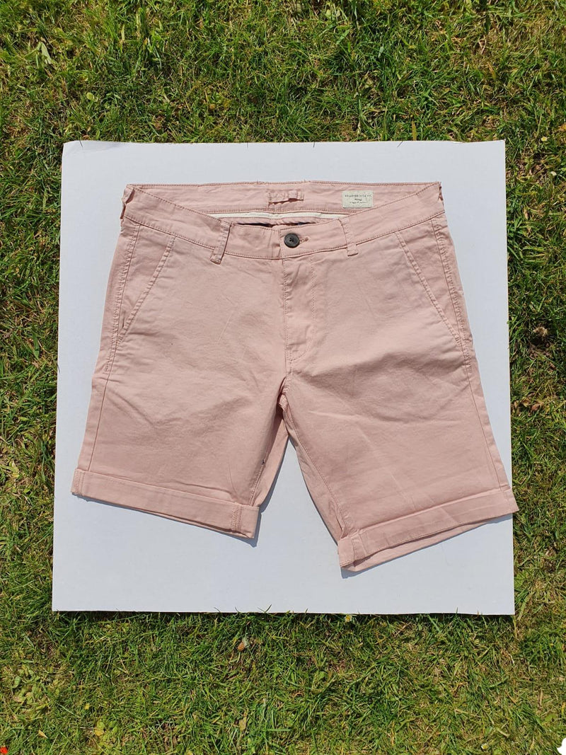 Selected Homme Mahogany Rose Short