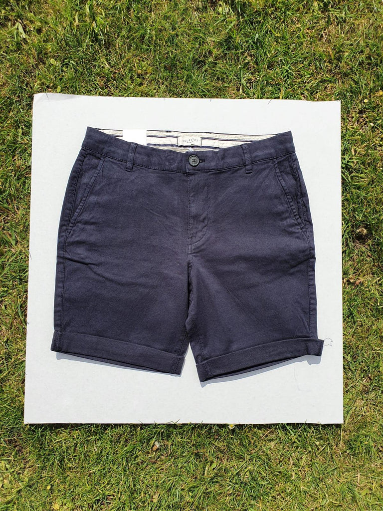 Selected Homme Straight Paris Dark Short