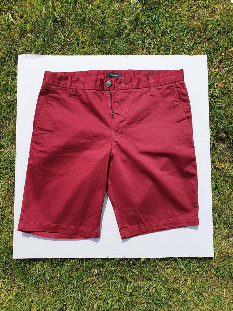 Matinique Stretch Shorts Brick Red