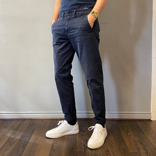 Selected Homme Nico Navy Chino