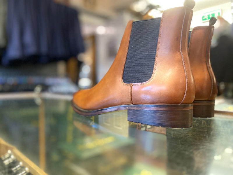 Sergio Duletti Brown Chelsea Boot Dylan