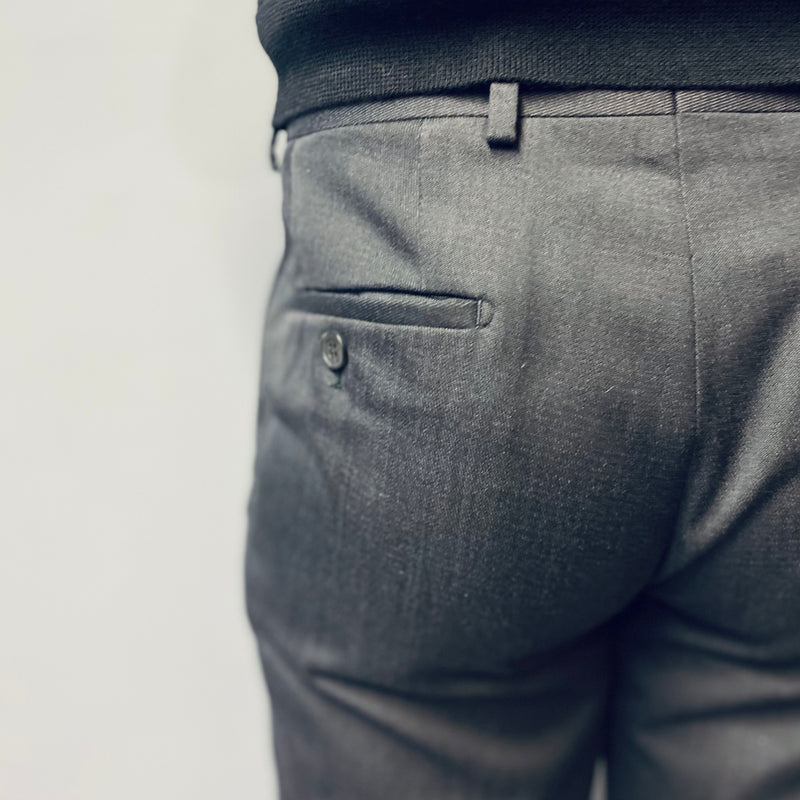 Torre Draka Charcoal Tapered Trouser