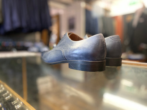 Lacuzzo Blue Derby Santi Shoe