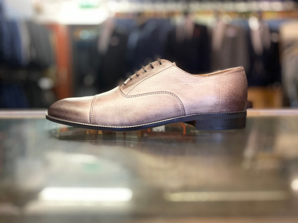 Lacuzzo Grey Brown Derby Sven Shoe