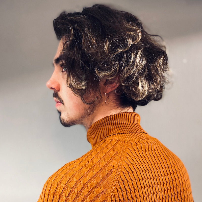 Selected Homme Carlos Cable Roll Neck