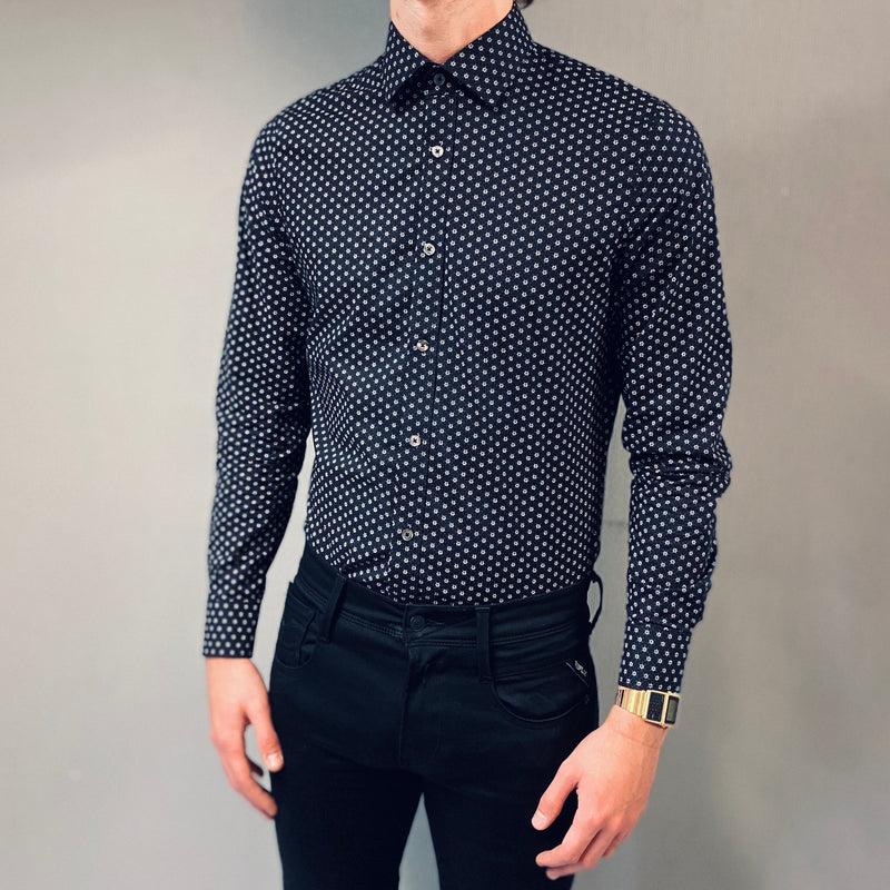 Matinique Black Keith Print Shirt