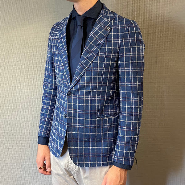Mulish Prezzemolo Blue Check Blazer
