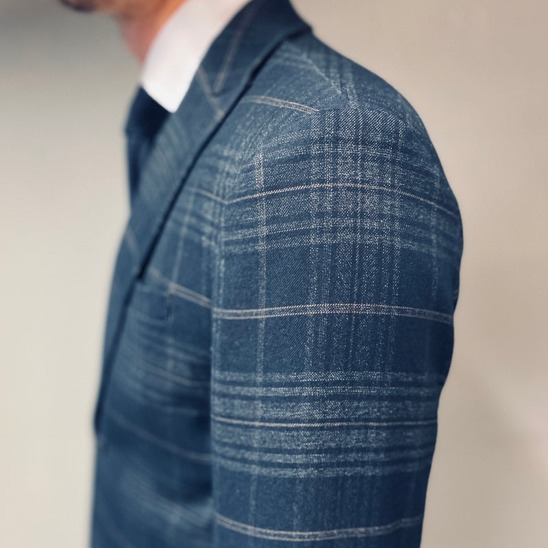 Selected Homme Hove Check Blazer