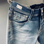 REPLAY SLIM FIT HYPERFLEX BIO ANBASS JEANS