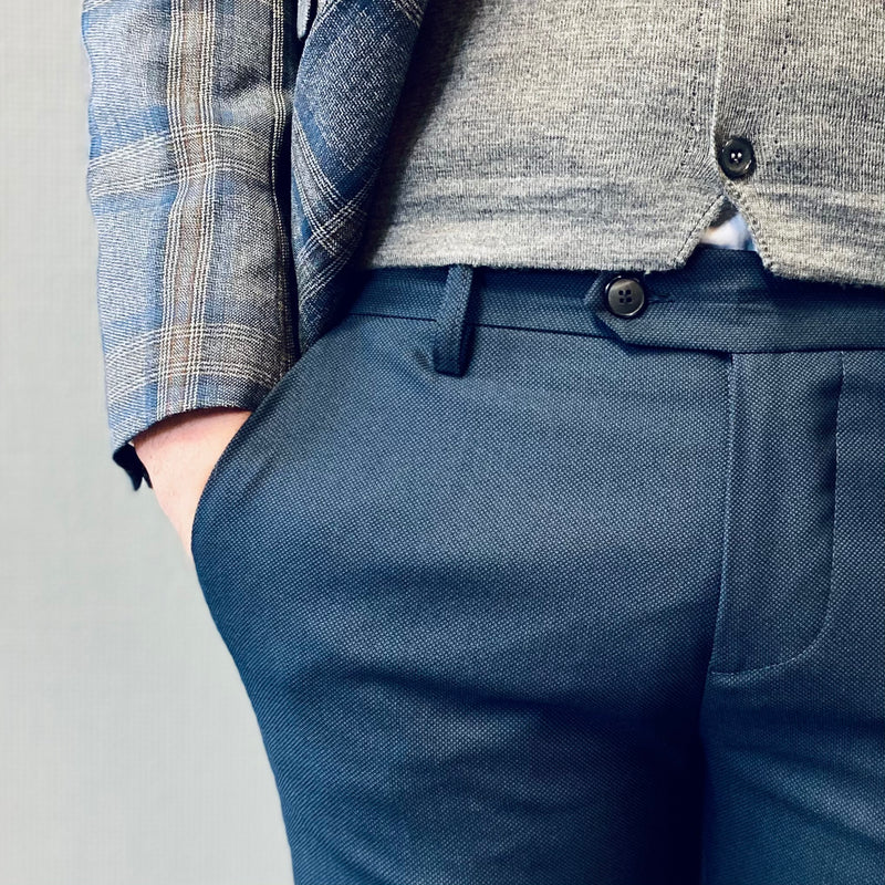 Mulish Squalo Navy Slim Trousers