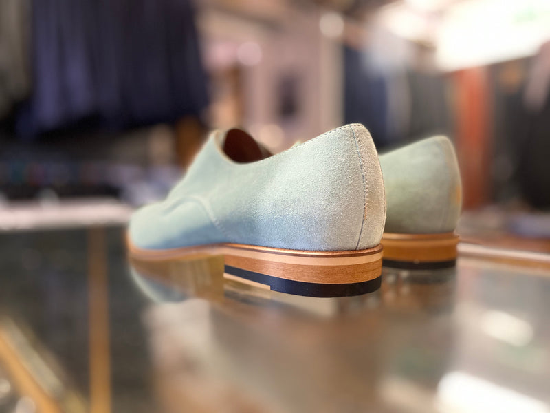 Lacuzzo Green Suede Oxide Shoe
