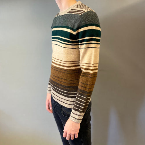 Markup Stripe Rigato Knit Jumper