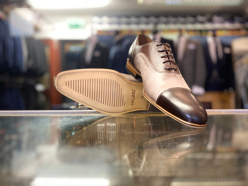 Lacuzzo Brown 3T Derby Shoe