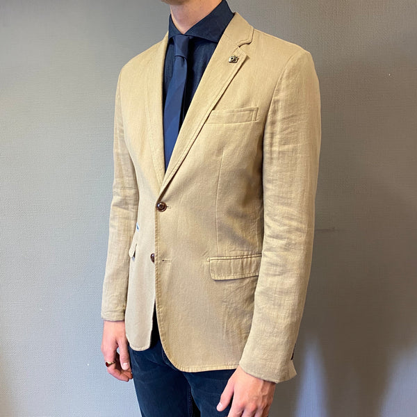 Selected Homme Camp Sand Blazer