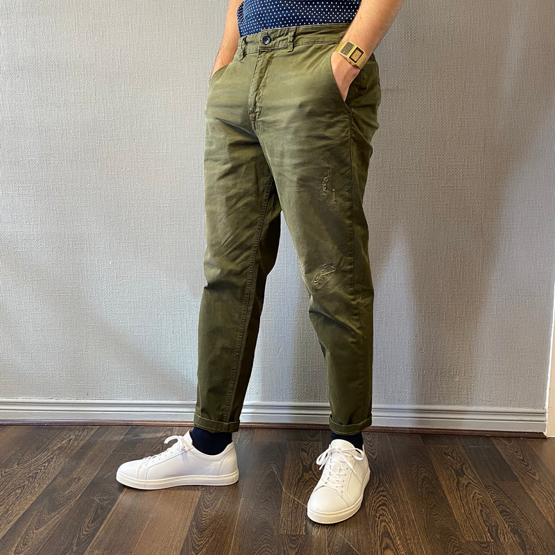 Selected Homme Nico Green Chino