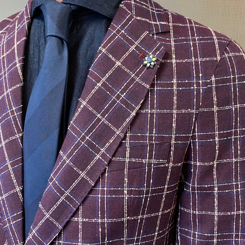 Mulish Prezzemolo Wine Check Blazer
