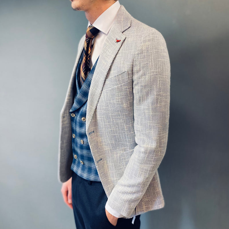 Mulish White Blue Peugeot Blazer