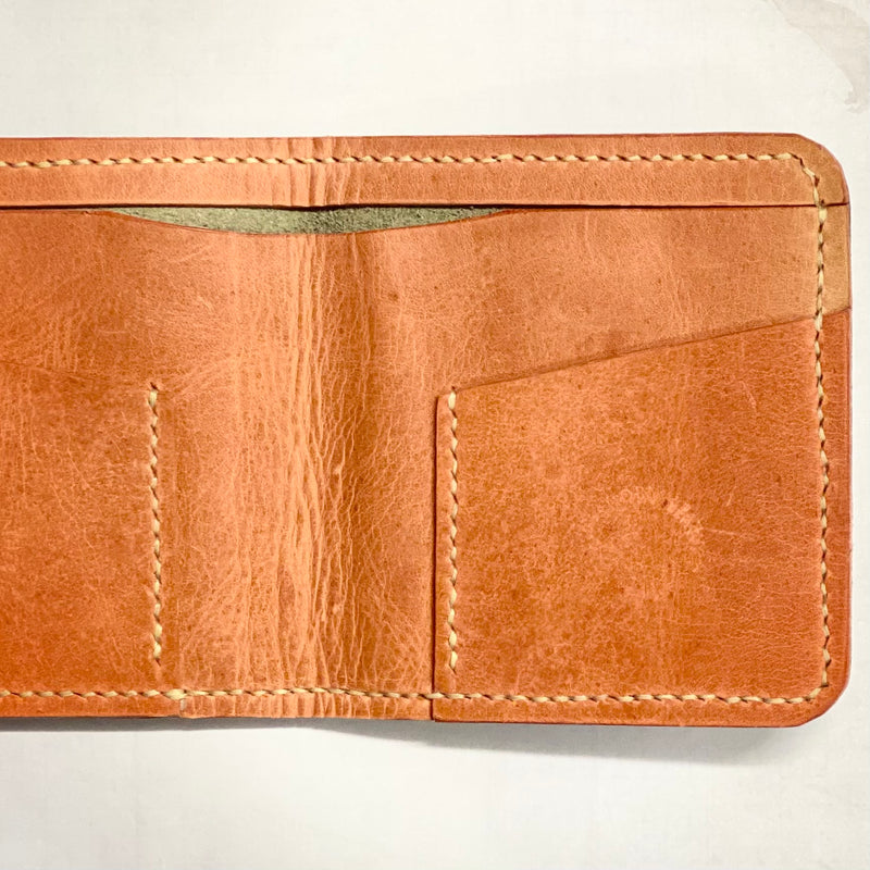 Blackthorn Leather Green Wallet