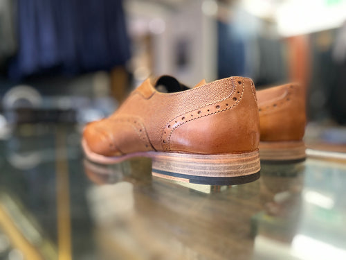 White Label Tan Brouge Shoe