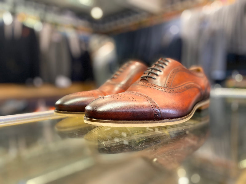 Lacuzzo Brown Brogue Cooper