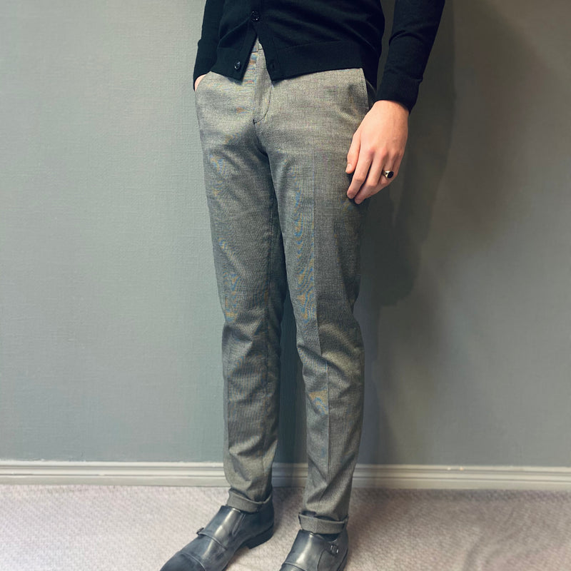 Selected Homme Skinny Mathsaul Grey Trousers