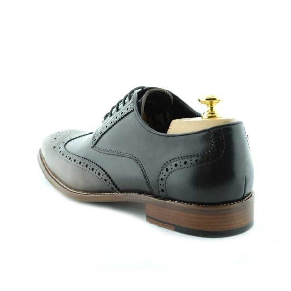 Paolo Vandini Felix Brogue Black Multi