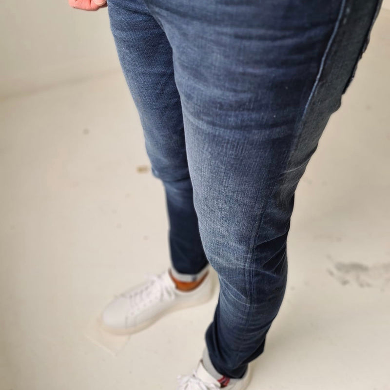 Petrol Seaham Coated Slim Jean