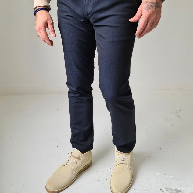 Selected Homme Navy Smart Pant