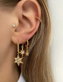 Earring Dot Galaxy Star