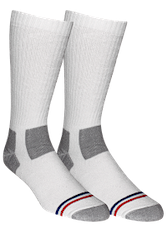 *Soledier Socks - Thomas Crew - White