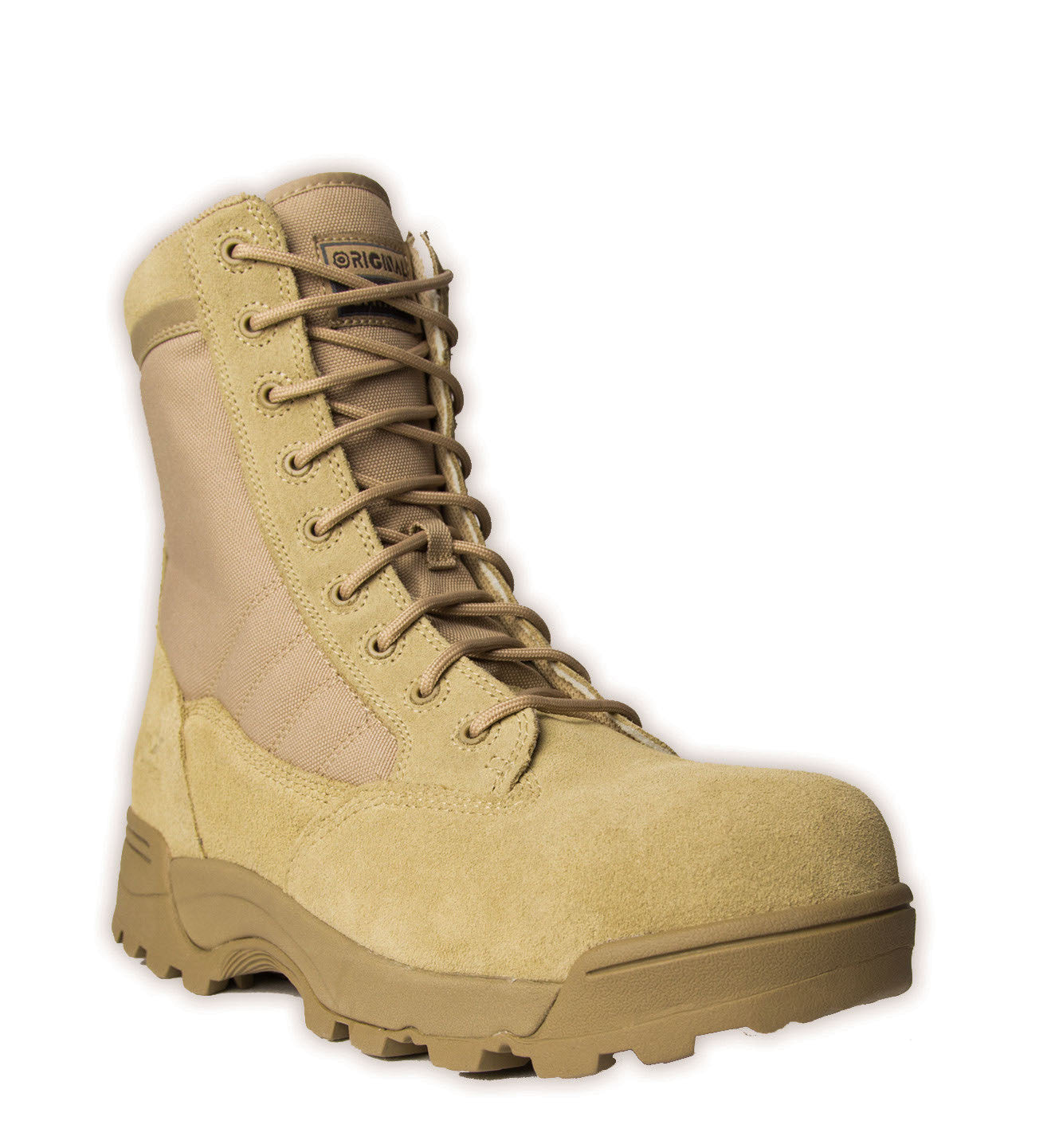 Original Swat Side-Zip Steel Toe Boots - Desert Tan