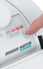 Minn Kota Riptide Terrova Push to Test Battery Meter