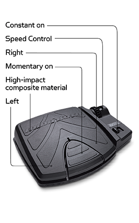 PowerDrive Foot Pedal