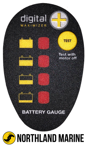 Minn Kota Battery Meter Decal FW 2316605