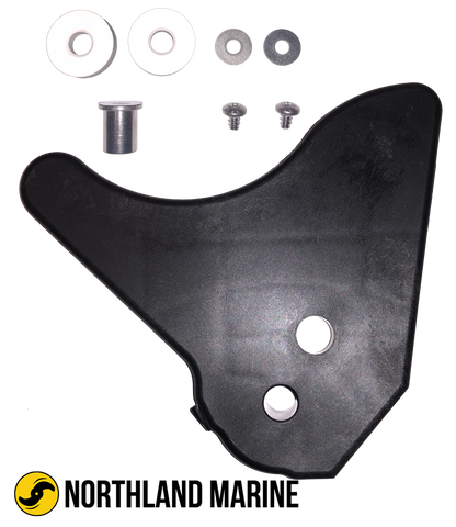 "Minn Kota Left Motor Ramp Kit 3-5/8"" LU 2323915KITSW"