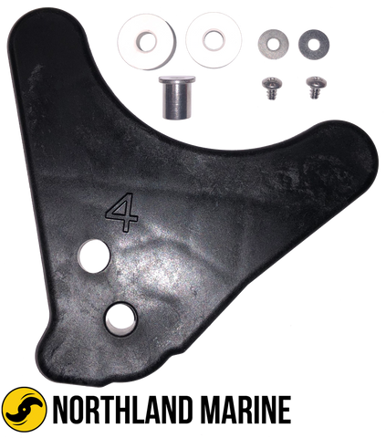 "Minn Kota Right Motor Ramp Kit 4"" LU 2323930KITSW"