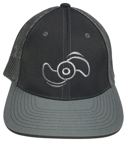 Northland Marine Black/Silver Hat