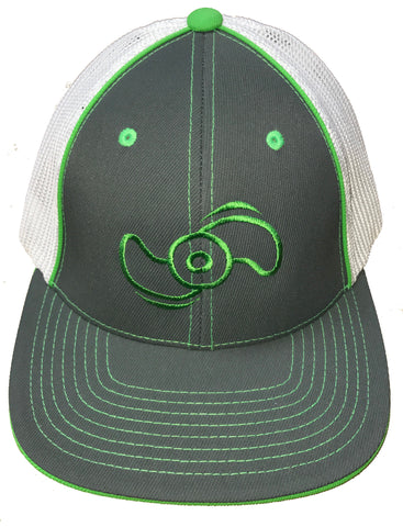 Northland Marine Graphite/Neon Green Hat