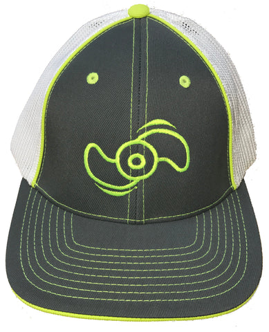 Northland Marine Graphite/Neon Yellow Hat