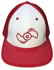 Northland Marine Red/White Hat