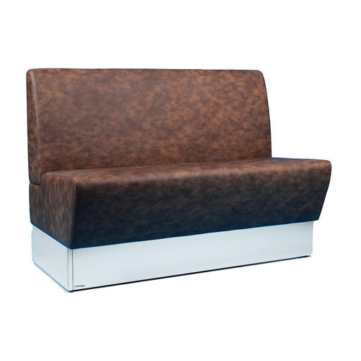 Banquette 2 places Metalmobil occasion - Marron - 120 x 65 x 85 cm-Bluedigo