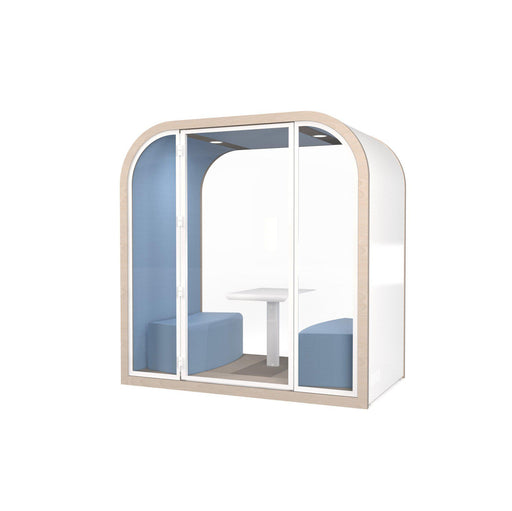 Cabine acoustique L'Arche quad Leet Design - Made in France - 215 x 210 x 125 cm-Bluedigo