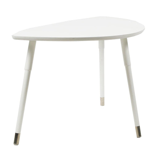 Table basse design occasion - Blanc - 106 x 54 x 52 cm-Bluedigo