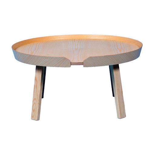 Table basse Muuto occasion - Bois clair - 72 x 35 cm-Bluedigo